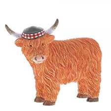 Border Fine Arts Douglas Highland Cow Figurine - New Boxed - A29349