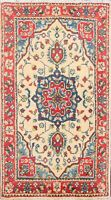 Geometric Classic Super Kazak Oriental Wool Handmade Vegetable Dye Area Rug 2x3