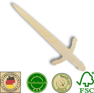 Ritterschwert Ritter Schwert Birke Dolch Kindergeburtstag Fasching Kostüm