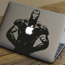 "Iron Man Apple Macbook Decal Sticker encaja 11"" 12"" 13"" 15"" & 17"" Modelos"