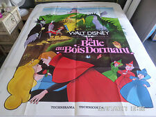 AFFICHE  WALT DISNEY / LA BELLE AU BOIS DORMANT / dragon
