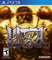 NEW Ultra Street Fighter IV (Sony Playstation 3, 2014)