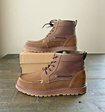 NIB BOYS YOUTH SPERRY AO TWISTED LUG BROWN CHUKKAH BOOTS LACE UP SHOES MULT SZ