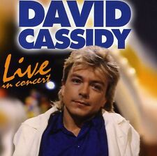 Live In Concert - David Cassidy (2010, CD NEUF)