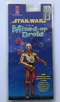 1995 Star Wars the Mixed-Up Droid Cassette & Dark Horse Comic Book- SEALED MINT