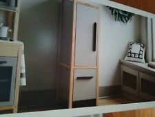 NEW~HEARTH & HAND Magnolia Wooden Play Kitchen Child Toy REFRIGERATOR