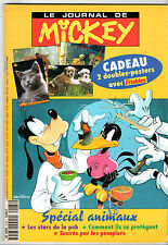 LE JOURNAL DE MICKEY n°2181 ¤ 1994 ¤ + 2 DOUBLES POSTERS LES ARISTOCHATS/CHIOTS