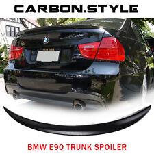 LA Stock ABS Unpainted For BMW 3-series E90 4D Performance Trunk Sedan Spoiler