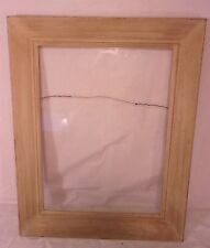vintage mid century modern frame 20x24 holds 15x19 34 molding 3 - Mid Century Picture Frames