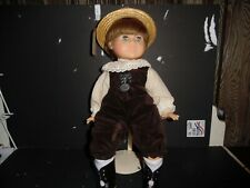 """Zapf Vintage Exclusive Colette Soft 19"""" Doll Western Germany"""