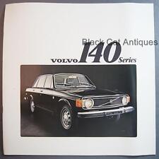 Original Vintage Volvo 140 Series Over-Sized Car Dealer Brochure