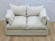 Faux Suede Up to 2 Seats Sofa Beds