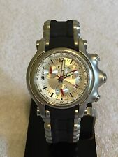 Oakley Holeshot Watch With Metal & Unobtainium Band, Great, Rare & Cool Watch