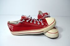 Rare Forever Collectibles THE OHIO STATE Red All Star Like Shoes Size Mens 9.5