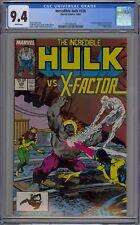 Incredible Hulk #336 CGC 9.4 NM Wp Marvel Comics 1987 X-Factor & McFarlane Art