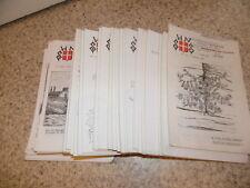 1981-86.lot 40 bulletins société d'histoire naturelle de la Savoie.