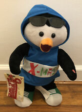 Gemmy Hip Hop Holiday Penguin W/ Tags Rapping Animated Dancing Singing