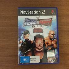 SMACKDOWN vs RAW 2008 - Sony Playstation 2 PS2 - Complete  - FREE SHIPPING!