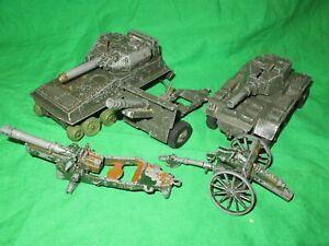 Crescent Alvis Saladin Armoured Car Scorpion Tank & field guns for renovation