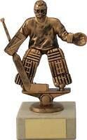 Ice Hockey Trophies Ice Hockey Goalie Figure Award 7 inch FREE Engraving