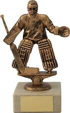 Ice Hockey Trophies Ice Hockey Goalie Figure Award 7 inch FREE Engraving