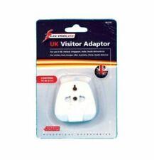 Electrolite Uk Visitor Adaptor 3Pin Universal Plug Travel Adaptor To UK-USA AUS