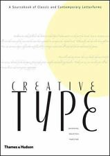 Creative Type: A Sourcebook of Classic and Contemporary Letterforms-ExLibrary