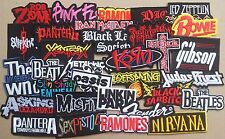 Lot of 32 Iron On Patch Sew Wholesale Music Band Metal Punk Rock n Roll DIY # BC