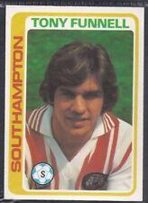 TOPPS-FOOTBALL (PALE BLUE BACK 1979)-#278- SOUTHAMPTON - TONY FUNNELL