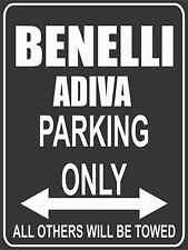 Parkplatz - Parking Only - Benelli Adiva - Parkplatzschild