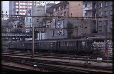 35mm slide+© SBB CFF FFS RBe 4/4 1427 Basel SBB Switzerland 1982 original