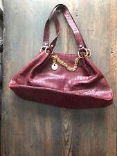 Women Handbag, Perlina, Brown, Leather