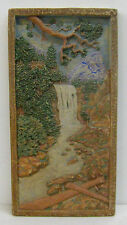 Muresque Vintage Scenic California Waterfall Tile