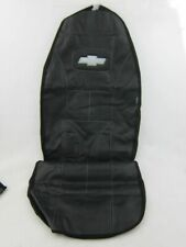 Embroidered black Chevrolet seat covers (black)