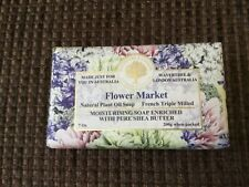 Wavertree and London Flower Market Australian Natural Luxury Soap Bar 7 Ounces