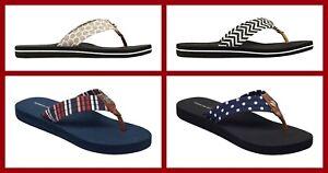 Tommy Hilfiger ~ Flip-Flops Women's Thong Sandals $30 NWT