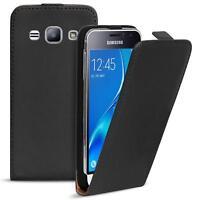 Flip Case Samsung Galaxy J3 2016 Hülle Pu Leder Klapphülle Handy Tasche Cover