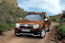 Dacia Duster DESIGN Edelstahl Frontbügel Frontschutzbügel ABE U TYPE