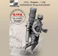 1/35 Resin Figure Model Kit German Soldiers IFA Hummel WWII Unpainted Unassamble