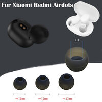 Silicone Ear Tips Earbuds Sleeve for Xiaomi Redmi Airdots TWS Bluetooth Earphone