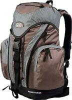 lestra Rando Air 25 Liter Rucksack Volumen ALLROUND Serie toffee mit Regenhülle