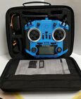 FrSky Taranis QX7S Blue with Soft Case SE US SELLER FAST SHIPPING NEW OPEN BOX