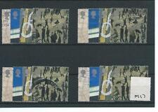 Gb-Conmemorativas - 2000-M17-cuatro conjuntos-Art & Craft-Mayo-Usado