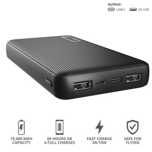 Power Bank Portable Charger External Battery PowerBank PD Two-way Fast PowerBank