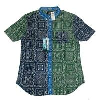 Reyn Spooner Mens Hawaiian Shirt Size M Orig Lahaina CLR BLK Tailored Fit New