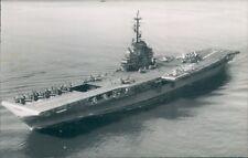 Postcard Sized Photo American Essex Class Aircraft Carrier USS Randolph p2