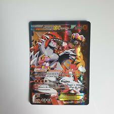 Carte Pokémon Groudon EX Full Art de la team magma (15/34)