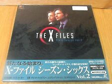 X-FILES LASERDISC BOX SET 6th SEASON Vol 2  BRAND NEW & FACTORY SEALED
