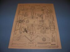 VINTAGE..1933 CURTISS BF2C-1 ..6-VIEWS/CROSS SECTIONS/COLORS..RARE! (503A)