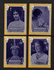 PENRHYN IS.1985 QUEEN MOTHER SET SG 378-381 MNH.